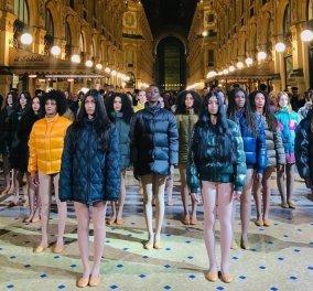Galleria Vittorio Emanuele: Και ξαφνικά η διασημότερη στοά μόδας στον κόσμο γέμισε μπουφάν Moncler (φώτο- βίντεο) - Κυρίως Φωτογραφία - Gallery - Video