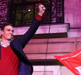 Ισπανία: Πολιτικό αδιέξοδο μετά τις χθεσινές εκλογές - Ο Σάντσεθ καλεί όλα τα κόμματα να συνεργαστούν για να βρεθεί λύση (φώτο-βίντεο) - Κυρίως Φωτογραφία - Gallery - Video