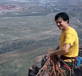 Ούρλιαξε & ο αντίλαλος ακουγόταν χιλιόμετρα: Νεκρός ο διάσημος ορειβάτης Μπραντ Γκομπράϊτ - Έπεσε από ύψος 300 μέτρων (φώτο-βίντεο) - Κυρίως Φωτογραφία - Gallery - Video
