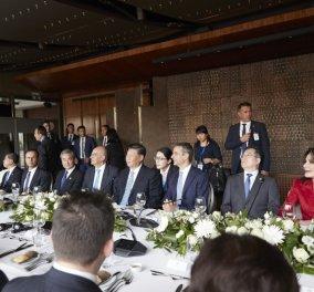Γεύμα Μητσοτάκη- Σι Τζίνπινγκ με θέα την Ακρόπολη - Ποιοι συμμετείχαν - Το μενού- οι εκπλήξεις (φώτο) - Κυρίως Φωτογραφία - Gallery - Video