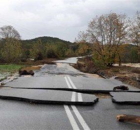«Βούλιαξαν» Θάσος & Χαλκιδική από την σφοδρή κακοκαιρία - Εικόνες & βίντεο από την καταστροφή που προκάλεσαν οι πλημμύρες  - Κυρίως Φωτογραφία - Gallery - Video