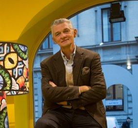 Στην Αθήνα μια μεγάλη προσωπικότητα του παγκόσμιου Design - O Ιταλός Giulio Capellini  (φώτο)   - Κυρίως Φωτογραφία - Gallery - Video
