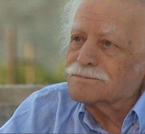 """Μανόλης Γλέζος: """"Κρίσιμη αλλά σταθερή η κατάσταση της υγείας του"""" -λέει το ιατρικό ανακοινωθέν - Η επίσκεψη του Βασίλη Κικίλια - Κυρίως Φωτογραφία - Gallery - Video"""