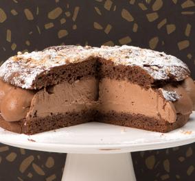 Ο Στέλιος Παρλιάρος σε μια ιδιαίτερη δημιουργία: Μας παρουσιάζει Tarte tropézienne με σοκολάτα   - Κυρίως Φωτογραφία - Gallery - Video