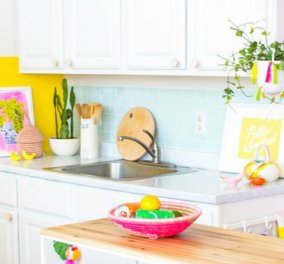 Σπύρος Σούλης: Η μεταμόρφωση αυτής της κουζίνας θα σας αφήσει άφωνους - Πως ένας μουντός & αδιάφορος χώρος έγινε πηγή χαράς  (φώτο) - Κυρίως Φωτογραφία - Gallery - Video