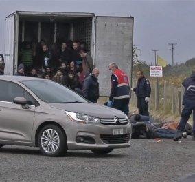 Ξάνθη: Παρολίγο τραγωδία σαν αυτή του Έσεξ : 41 λαθρομετανάστες κλεισμένοι σε κοντέινερ κόντεψαν να πάθουν ασφυξία (φώτο-βίντεο) - Κυρίως Φωτογραφία - Gallery - Video