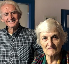 Story of the Day: Ο κύριος Γιώργος & η κυρία Κίρκη ζουν 65 χρόνια στο μικρότερο κατοικημένο νησί της Ελλάδας (φώτο-βίντεο) - Κυρίως Φωτογραφία - Gallery - Video