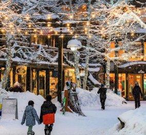 Εκπληκτικές φωτογραφίες από τις πιο γιορτινές πόλεις των Χριστουγέννων στην Αμερική - Λαμπερές με φωτάκια & στολίδια - Κυρίως Φωτογραφία - Gallery - Video