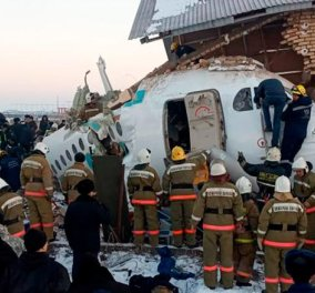 Τραγωδία στο Καζακστάν:Συνετρίβη αεροπλάνο με 100 επιβαίνοντες - 15 οι νεκροί και 66 οι τραυματίες - Φώτο & βίντεο - Κυρίως Φωτογραφία - Gallery - Video
