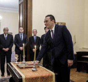 Κώστας Βλάσης: Ορκίστηκε ο νέος υφυπουργός Εξωτερικών - Αρμόδιος για τον Απόδημο Ελληνισμό - Φώτο  - Κυρίως Φωτογραφία - Gallery - Video