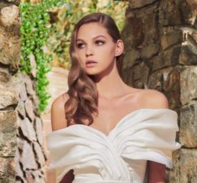 Η Vogue παρουσιάζει υπέροχα - κλασικά νυφικά φορέματα: Με δαντέλα, σε ίσια γραμμή ή υπερπαραγωγή; Φώτο - Κυρίως Φωτογραφία - Gallery - Video