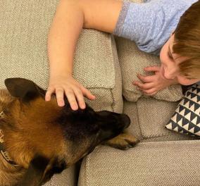 Φιλόζωος ο πρίγκιπας Παύλος με την Μαρί Σαντάλ & τα παιδιά τους - Οι φώτο με τα σκυλάκια τους - Κυρίως Φωτογραφία - Gallery - Video