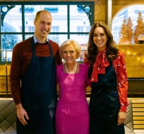 Η Kate Middleton με Χριστουγεννιάτικη διάθεση:Φόρεσε κόκκινο γιορτινό - φουστάνι & εμφανίστηκε σε εκπομπή μαγειρικής - Φώτο - Κυρίως Φωτογραφία - Gallery - Video