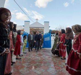 """Θερμή υποδοχή στον Κυριάκο Μητσοτάκη στην Κάσο - """"Θα υπερασπιστούμε τα κυριαρχικά μας δικαιώματα με κάθε μέσο"""" (φώτο-βίντεο) - Κυρίως Φωτογραφία - Gallery - Video"""