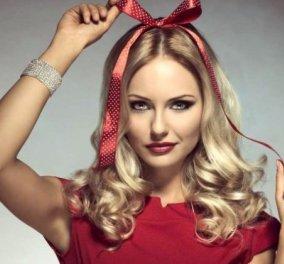 Χριστουγεννιάτικα χτενίσματα: Εντυπωσιακά μαλλιά γεμάτα λάμψη! Φώτο  - Κυρίως Φωτογραφία - Gallery - Video