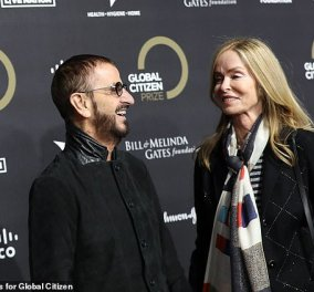 Σαν τα χιόνια! 79 ετών έγινε ο Ringo Starr: Έχει πάντα στυλ νεανικό & παραμένει ζευγάρι με την καλλονή σύζυγο του Barbara Bach (φώτο)  - Κυρίως Φωτογραφία - Gallery - Video