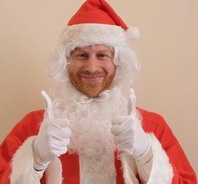 Ο πρίγκιπας Χάρι ντύθηκε Άγιος Βασίλης & στέλνει χριστουγεννιάτικο μήνυμα σε βίντεο - Οι μυστικές διακοπές του ζεύγους στον Καναδά (φώτο-βίντεο) - Κυρίως Φωτογραφία - Gallery - Video