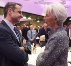 Το απόγευμα η κρίσιμη συνάντηση του Κυριάκου Μητσοτάκη με την Κριστίν Λαγκάρντ - Το γεύμα με τονΜπενουά Κερέ - Κυρίως Φωτογραφία - Gallery - Video