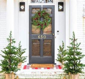 Υποδεχθείτε τους καλεσμένους σας για τα Χριστούγεννα με αυτές τις 40 εκπληκτικές ιδέες για στεφάνια πόρτας - Φώτο - Κυρίως Φωτογραφία - Gallery - Video