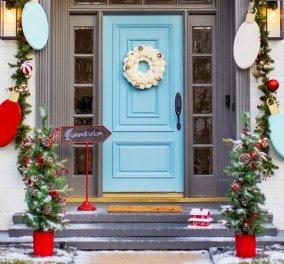 50 Χριστουγεννιάτικες & λαμπερές προτάσεις για να διακοσμήσετε τον εξωτερικό χώρο του σπιτιού σας γιορτινά - Φώτο - Κυρίως Φωτογραφία - Gallery - Video