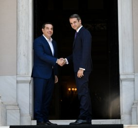 Δημοσκόπηση MRB: Η διαφορά ΝΔ - ΣΥΡΙΖΑ, οι καλύτεροι υπουργοί & οι προτιμήσεις για Πρόεδρο της Δημοκρατίας  - Κυρίως Φωτογραφία - Gallery - Video