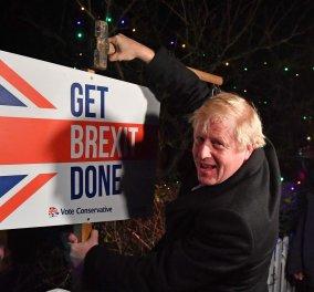 Ολοταχώς για Brexit η Βρετανία μετά τη σαρωτική νίκη του Μπόρις Τζόνσον - Tο χρονοδιάγραμμα της αποχώρησης  - Κυρίως Φωτογραφία - Gallery - Video