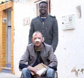 Story of the day: 20χρονος Σενεγαλέζοςμετανάστης στην Ισπανία έσωσε ανάπηρο από κτίριο πουκαιγόταν - Κυρίως Φωτογραφία - Gallery - Video