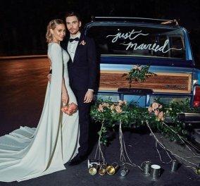 H Hilary Duff παντρεύτηκε - Το ονειρικό σικ νυφικό που έφτιαξε η Jenny Packham -σχεδιάστρια που προτιμά η Κέιτ Μίντλετον (φώτο-βίντεο)    - Κυρίως Φωτογραφία - Gallery - Video