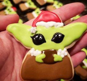 """Χριστουγεννιάτικα μπισκοτάκια """"Baby Yoda"""" : Η νέα μανία στο internet που έγινε """"viral"""" - Τα θέλουν όλοι (φώτο) - Κυρίως Φωτογραφία - Gallery - Video"""