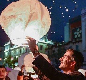 """Κώστας Μπακογιάννης: Ο δήμαρχος Αθηναίων μας εύχεται μέσα από την ατμοσφαιρική - """"χιονισμένη"""" πρωτεύουσα (φώτο) - Κυρίως Φωτογραφία - Gallery - Video"""