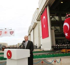 """Για """"γκρίζες ζώνες"""" στο Αιγαίο μιλά ο Ερντογάν: """"Η Άγκυρα δεν υποχωρεί από τις συμφωνίες που υπέγραψε""""  - Κυρίως Φωτογραφία - Gallery - Video"""