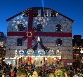 """Ο """"Μύλος των Ξωτικών"""" έβαλε πάλι τα γιορτινά του & η """"καρδιά"""" της Χριστουγεννιάτικης Ελλάδας χτυπά στα Τρίκαλα - Κυρίως Φωτογραφία - Gallery - Video"""