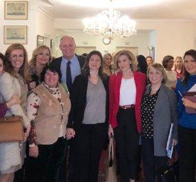 """Πρόεδρος ICC Women - Μαρίνα Γιαβρόγλου: """"Περισσότερες γυναίκες - μεγαλύτερη ανάπτυξη - Ξεκινάμε με εσάς τις 70"""" (φώτο) - Κυρίως Φωτογραφία - Gallery - Video"""