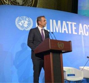 """Κυριάκος Μητσοτάκης στην διάσκεψη του ΟΗΕ για το κλίμα:  """"Οι ενέργειες της Τουρκίας στην Αν. Μεσόγειο υπονομεύουν τις προσπάθειες της ΕΕ"""" (βίντεο) - Κυρίως Φωτογραφία - Gallery - Video"""