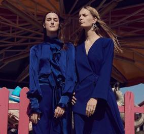 Πάρης Βαλταδώρος: Κατακτά τον κόσμο με την νέα του συλλογή -Μπλε ηλεκτρίκ & cafè au lait -Jumpsuits & φούστες - Κυρίως Φωτογραφία - Gallery - Video