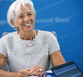Good News: Η Κριστίν Λαγκάρντ εντυπωσιάστηκε από την πρόοδο στην Ελλάδα & δηλώνει αισιόδοξη για την ανάκαμψη της οικονομίας  - Κυρίως Φωτογραφία - Gallery - Video