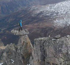 Story of the day: Φώτο - βίντεο: Από τονορειβάτη που στέκεται ακλόνητος στην κορυφή βουνού της Ελβετίας στα2.940 μέτρα - Κυρίως Φωτογραφία - Gallery - Video