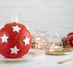 Ο Άκης Πετρετζίκης σε γιορτινή διάθεση: Να πως θα δημιουργήσουμε απίθανη τούρτα Χριστουγεννιάτικη μπάλα  - Κυρίως Φωτογραφία - Gallery - Video