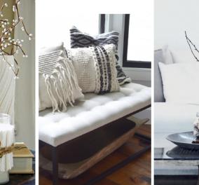 Ο Σπύρος Σούλης έχει εκπληκτικές ιδέες για τη χειμωνιάτικη διακόσμηση - Κάντε το με στυλ & με λιγότερο από 50 ευρώ (φώτο) - Κυρίως Φωτογραφία - Gallery - Video