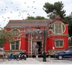 Good news απότην Θεσσαλονίκη - Παραμυθένιο χωριό του ΆγιουΒασίλη στην Αριστοτέλους φέρνουντα Χριστούγεννα - Φώτο - Κυρίως Φωτογραφία - Gallery - Video