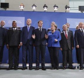 Διάσκεψη του Βερολίνου: Συμφώνησαν εκεχειρία - τήρηση του εμπάργκο όπλων στη Λιβύη - Πολιτική συμφωνία (φώτο-βίντεο) - Κυρίως Φωτογραφία - Gallery - Video