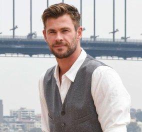 Ο Αυστραλός ηθοποιός Chris Hemsworth δωρίζει 1 εκατ. δολάρια για τις καταστροφικές πυρκαγιές στην πατρίδα του - Ποιοι άλλοι celebrities βοηθούν;    - Κυρίως Φωτογραφία - Gallery - Video
