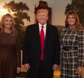 Όλες οι φωτογραφίες από την συνάντηση τωνΤραμπ & Μητσοτάκη στον Λευκό Οίκο- Το dress code Μαρέβας & Μελάνιας με jumpsuit - Κυρίως Φωτογραφία - Gallery - Video