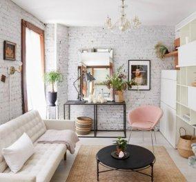 Ο Σπύρος Σούλης παρουσιάζει ένα chic μικροσκοπικό διαμέρισμα με πολύ ωραία διακόσμηση που θα σας εμπνεύσει - Φώτο - Κυρίως Φωτογραφία - Gallery - Video