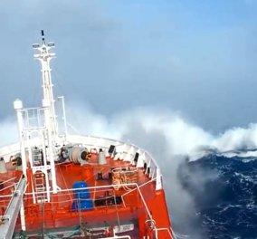 """""""Κόκκινος συναγερμός"""" στο Μυρτώο Πέλαγος: Ακυβέρνητο καράβι πλέει με 22 άτομα πλήρωμα & 10 μποφόρ   - Κυρίως Φωτογραφία - Gallery - Video"""