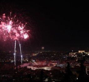 Καλή Χρονιά! Η λαμπερή υποδοχή του 2020 από την Αθήνα: Πυροτεχνήματα, τραγούδι και υπερθέαμα - Φώτο - Κυρίως Φωτογραφία - Gallery - Video