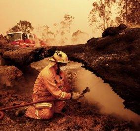 Συνταρακτικές εικόνες από την Αυστραλία: Μια από τις μεγαλύτερες φυσικές καταστροφές στην ιστορία του πλανήτη  - Κυρίως Φωτογραφία - Gallery - Video