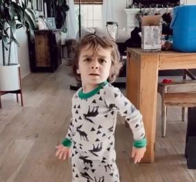 """Αυτό το 4χρονο παιδάκι είναι super ταλέντο στον χορό - Δείτε στο βίντεο την """" δραματική έκφραση"""" του καλλιτέχνη - Κυρίως Φωτογραφία - Gallery - Video"""