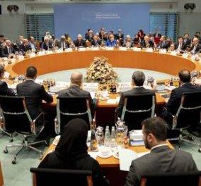 Διάσκεψη Βερολίνου: Οι αποφάσεις για τη Λιβύη - Συμφωνία κατάπαυσης του πυρός & τήρησης του εμπάργκο όπλων - Κυρίως Φωτογραφία - Gallery - Video