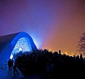 """Δείτε την πιο παγωμένη εκκλησία του κόσμου - Φτιάχτηκε εξ' ολοκλήρου από πάγο ως """"έμβλημα"""" μίας διαμαρτυρίας (φώτο) - Κυρίως Φωτογραφία - Gallery - Video"""